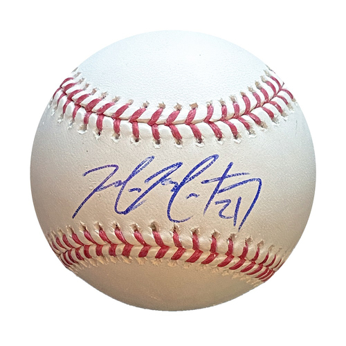 Photo of Autographed Baseball: Mike Montgomery