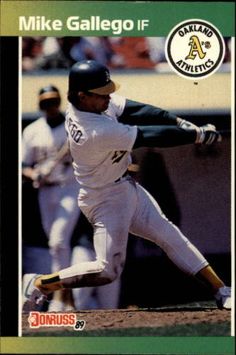 Photo of 1989 Donruss #422 Mike Gallego