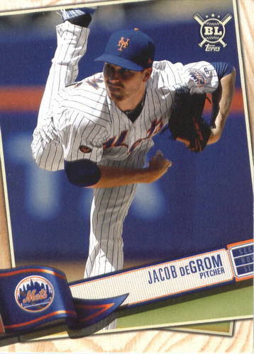 Photo of 2019 Topps Big League #250 Jacob deGrom