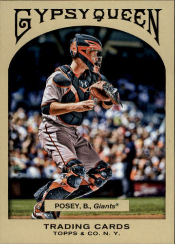 Photo of 2011 Topps Gypsy Queen #94 Buster Posey
