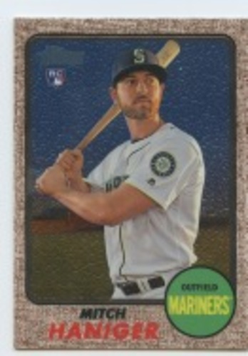 Photo of 2017 Topps Heritage Chrome #THC676 Mitch Haniger