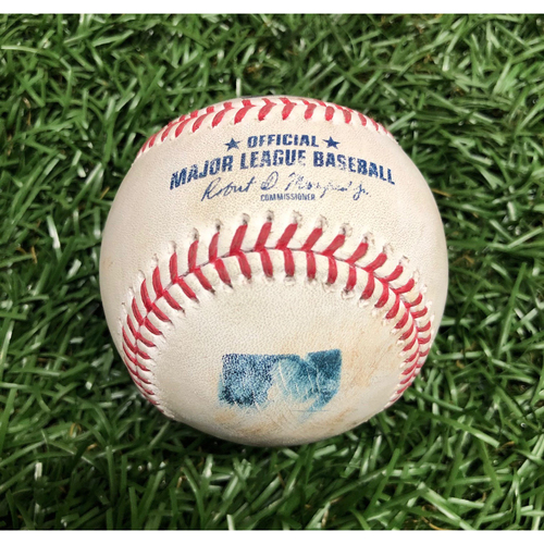Photo of Game Used Baseball: Kevan Smith foul ball off Aaron Nola - September 27, 2020 v PHI