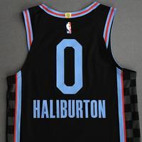 Tyrese Haliburton - Sacramento Kings - Game-Worn City Edition Jersey - 2020-21 NBA Season