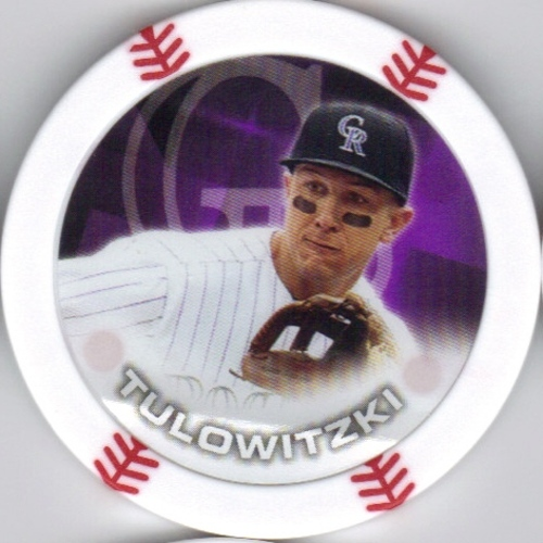 Photo of 2014 Topps Chipz #92 Troy Tulowitzki