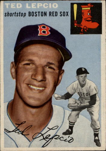 Photo of 1954 Topps #66 Ted Lepcio