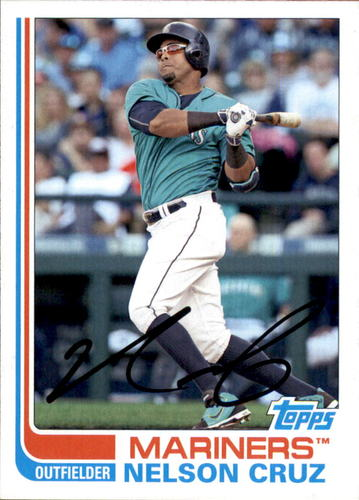 Photo of 2017 Topps Archives #170 Nelson Cruz