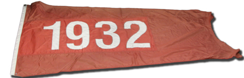 Wrigley Field Collection -- Rooftop Flag -- 1932