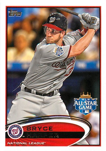 Photo of 2012 Topps Update #US299A Bryce Harper  Rookie Card