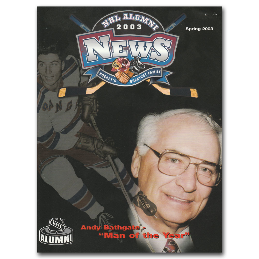 2003 NHL Alumni News Magazine