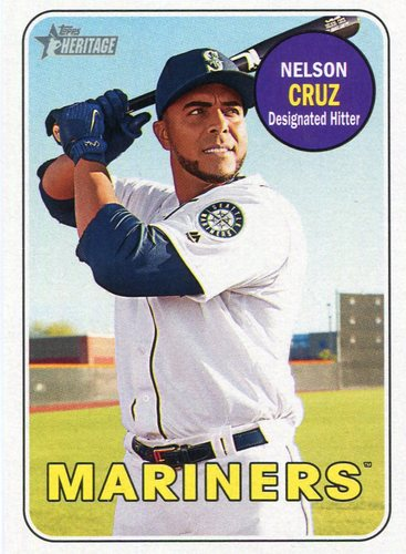 Photo of 2018 Topps Heritage #322 Nelson Cruz
