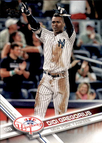Photo of 2017 Topps #482A Didi Gregorius