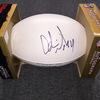 Patriots - Adrian Wilson signed panel ball w/ Patriots logo