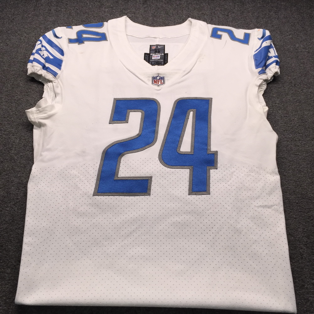 STS - Lions Nevin Lawson Game Used Jersey