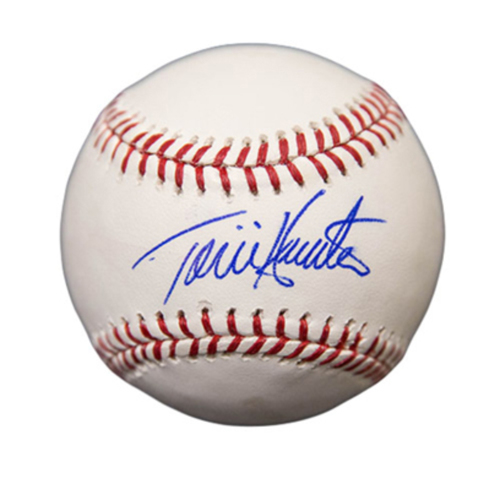 Photo of Minnesota Twins Autographed Baseball - Torii Hunter