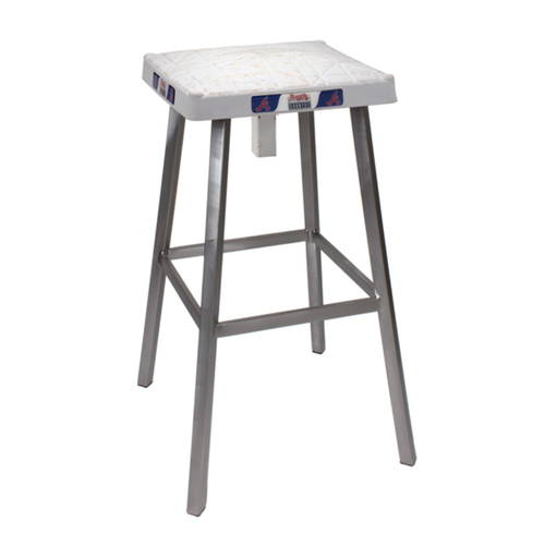 Photo of Tokens & Icons Atlanta Braves Game Used Base Stool