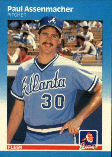 Photo of 1987 Fleer #511 Paul Assenmacher