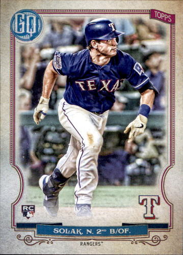 Photo of 2020 Topps Gypsy Queen #98 Nick Solak RC