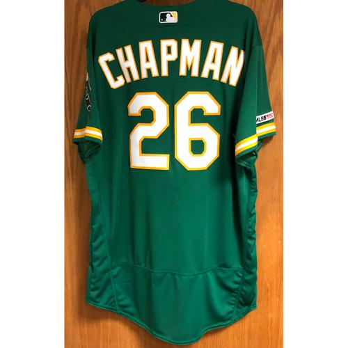 Photo of Team Issued Matt Chapman Jersey w/ MLB 150 Patch
