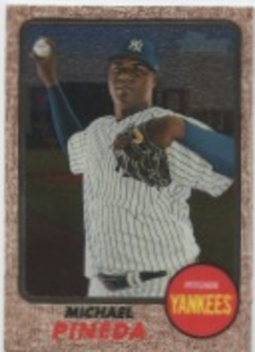 Photo of 2017 Topps Heritage Chrome #THC709 Michael Pineda