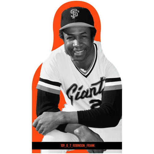 Photo of Giants Community Fund: Giants Frank Robinson Cutout
