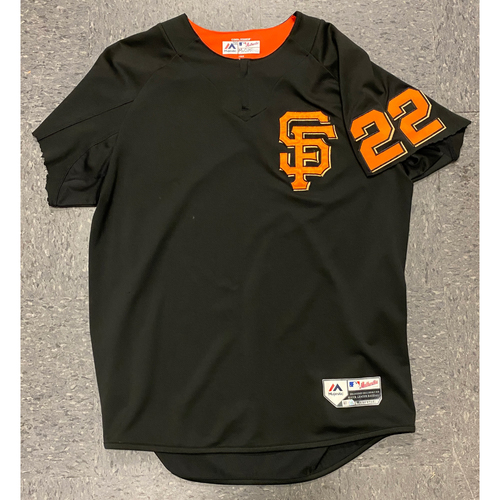 Photo of 2018 Team Issued Batting Practice Jersey - #22 Andrew McCutchen - Size L