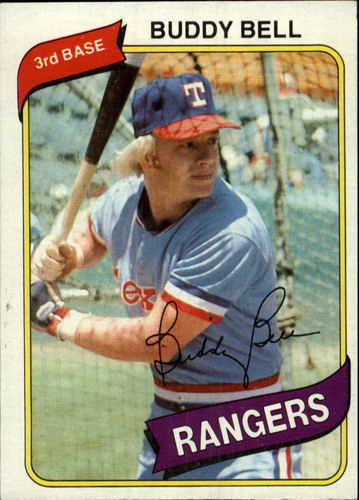 Photo of 1980 Topps #190 Buddy Bell