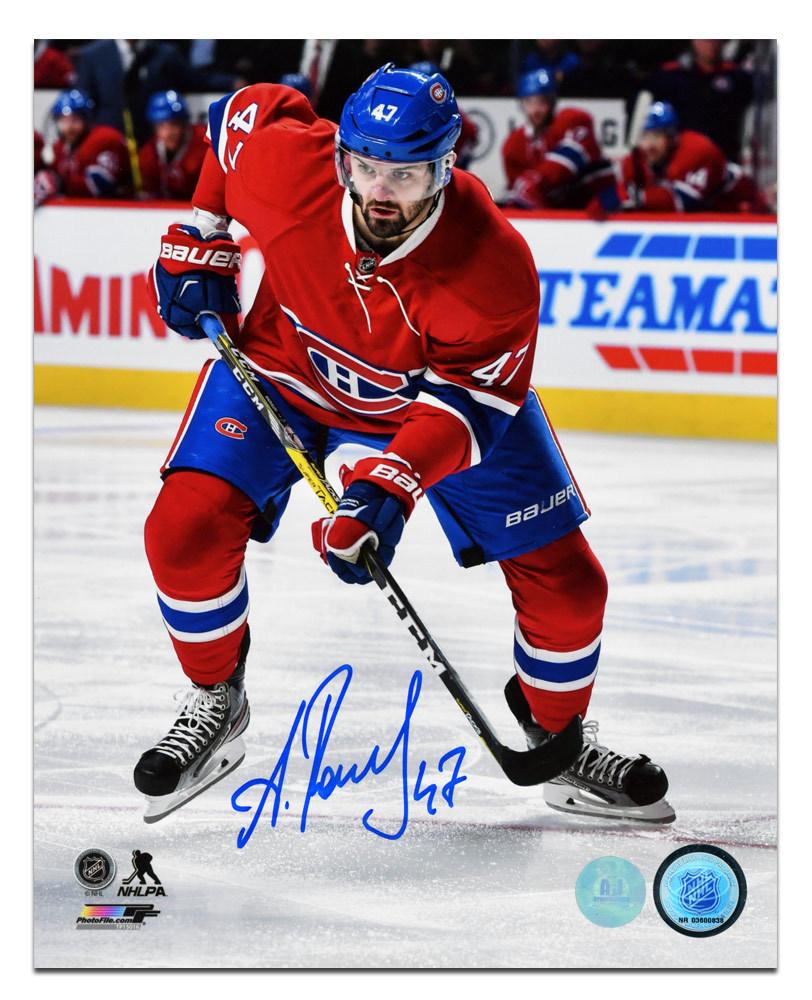 Alexander Radulov Montreal Canadiens Autographed Hockey Action 8x10 Photo