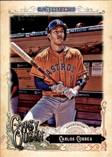Photo of 2017 Topps Gypsy Queen #74A Carlos Correa