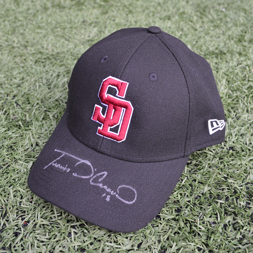 Photo of Charity Auction - Broward Education Foundation - Travis d'Arnaud #18 - Autographed & Game-Used Marjory Stoneman Douglas High School Cap