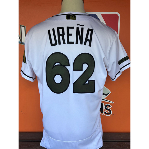 Photo of Game-Used Jersey: Jose Ureña (Memorial Day - Size 46)