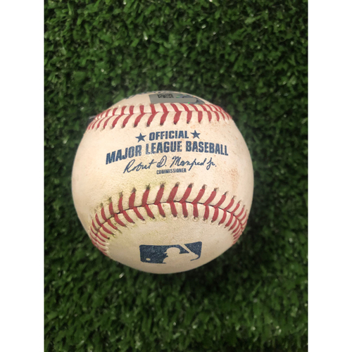 Photo of Josh Donaldson Game Used Hit Single Ball - May 28, 2019