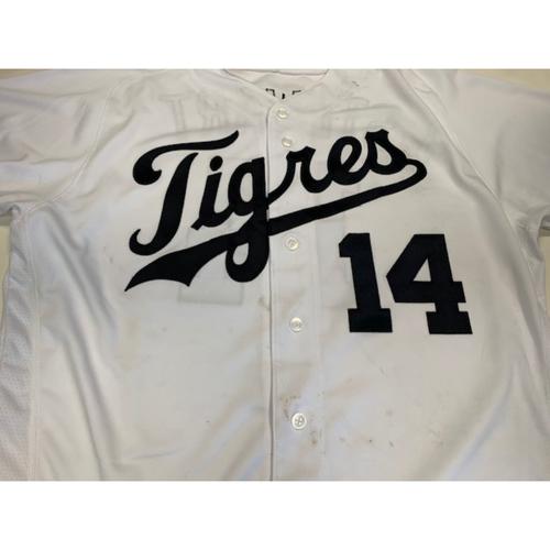 Photo of Game-Used Fiesta Tigres Jersey: Christin Stewart