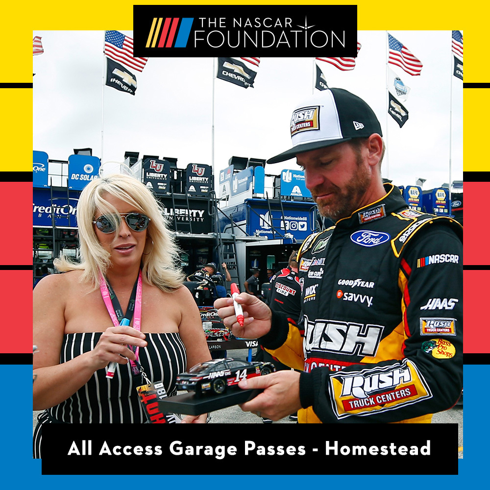 All Access Garage Passes at Homestead!
