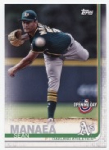 Photo of 2019 Topps Opening Day #143 Sean Manaea