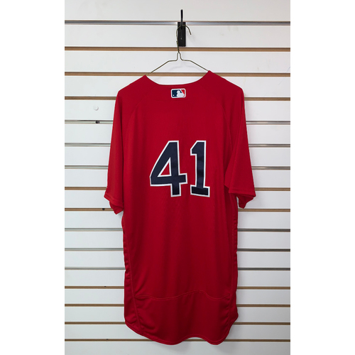 Photo of Chris Sale Team Issued 2018 Home Alternate Jersey