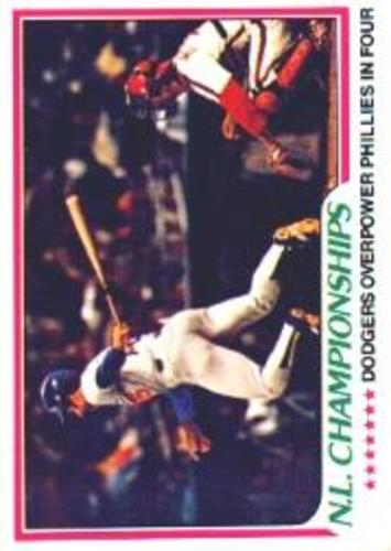 Photo of 1978 Topps #412 NL Championships/Davey Lopes
