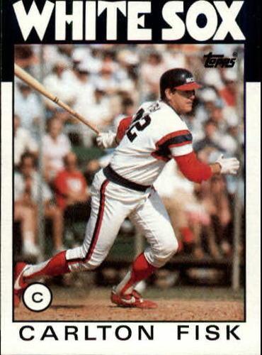 Photo of 1986 Topps #290 Carlton Fisk