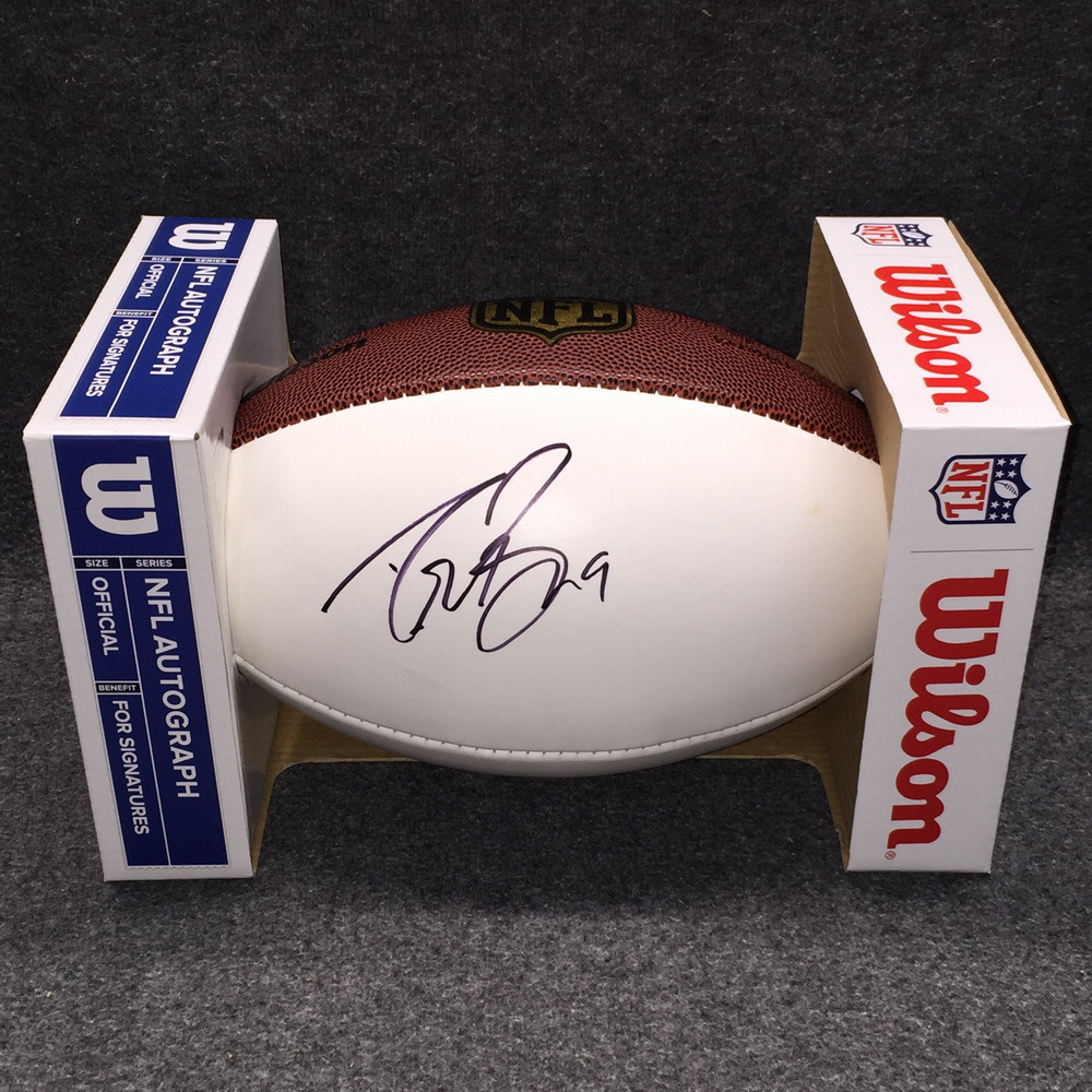 Disaster Relief- Saints Drew Brees signed panel ball