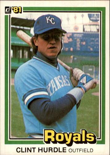 Photo of 1981 Donruss #224 Clint Hurdle