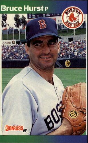 Photo of 1989 Donruss #423 Bruce Hurst