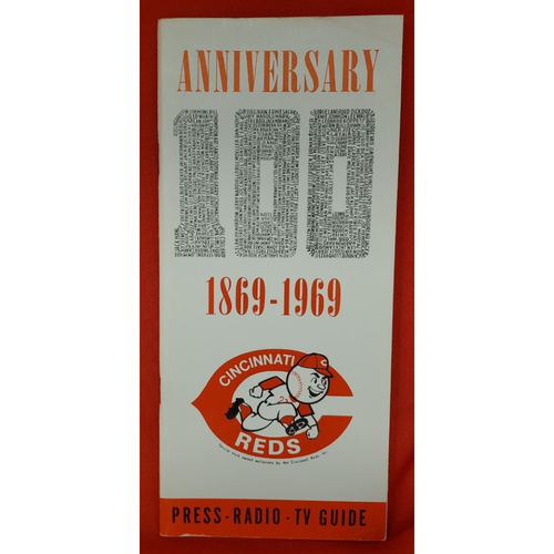 Photo of 1969 Cincinnati Reds Media Guide