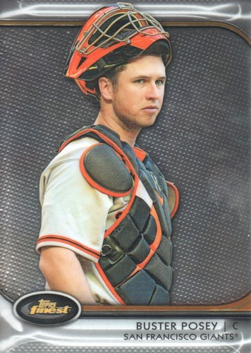 Photo of 2012 Finest #53 Buster Posey