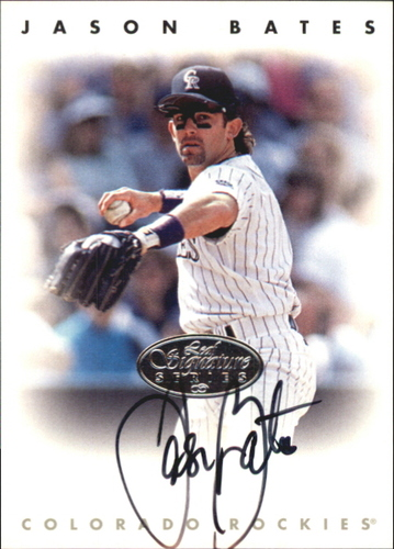 Photo of 1996 Leaf Signature Autographs Silver #16 Jason Bates