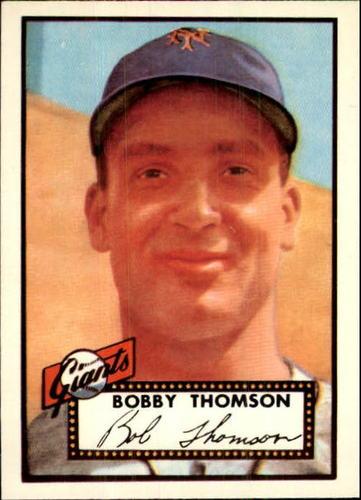 Photo of 1983 Topps 1952 Reprint #313 Bobby Thomson