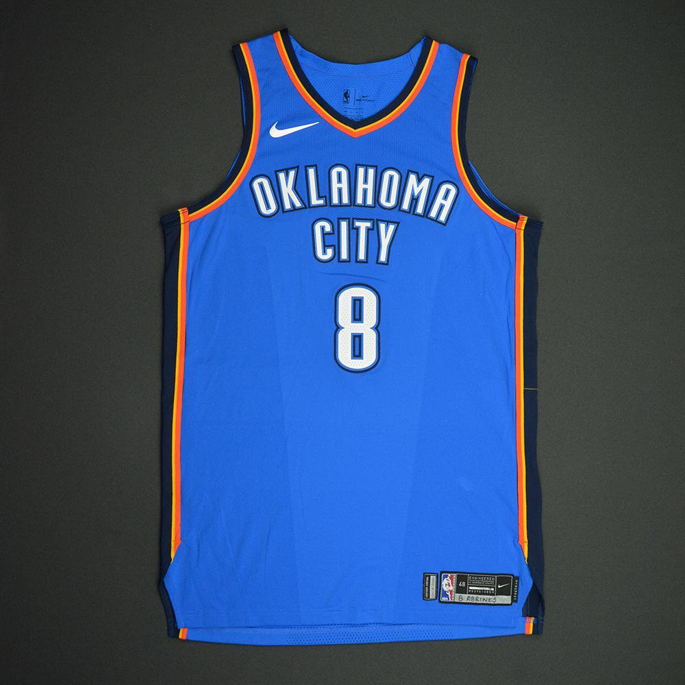 Alex Abrines - Oklahoma City Thunder - NBA Mexico City Games 2017 Game-Worn Jersey