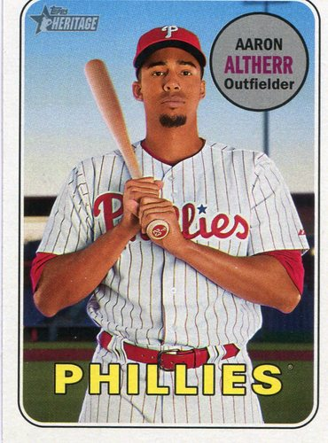 Photo of 2018 Topps Heritage #329 Aaron Altherr