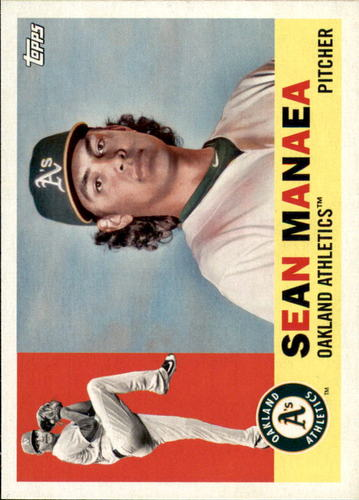 Photo of 2017 Topps Archives #18 Sean Manaea