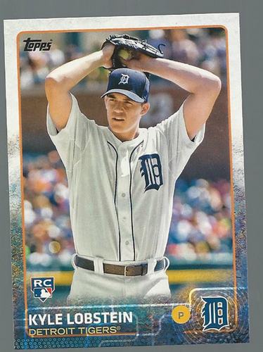 Photo of 2015 Topps #312 Kyle Lobstein RC