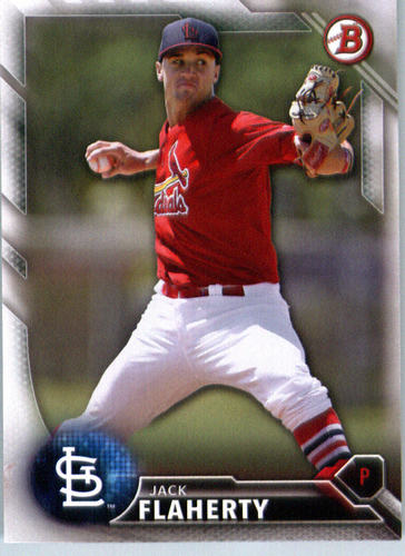 Photo of 2016 Bowman Prospects #BP89 Jack Flaherty