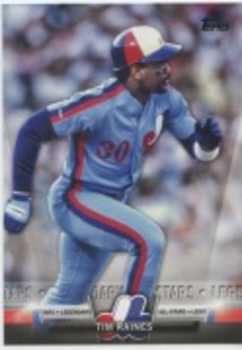 Photo of 2018 Topps Update Salute #S13 Tim Raines